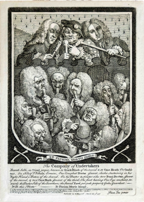 William Hogarth, A Company of Undertakers