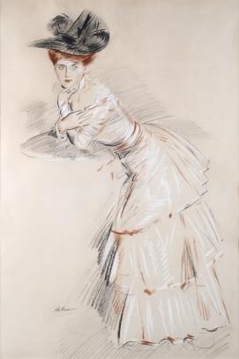 Paul César Helleu, Jeune Femme au Gueridon