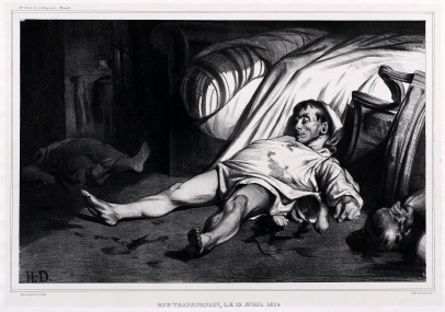 Honoré Daumier, Rue Transnonain
