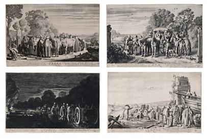 Van de Velde, The Four Elements