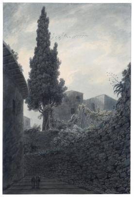John Robert Cozens, The Eight Hundred Year Old Cypress Tree