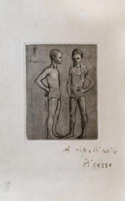 Pablo Picasso, Les Deux Saltimbanques