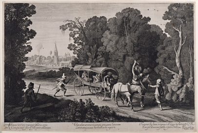 Brigands Attacking a Carriage