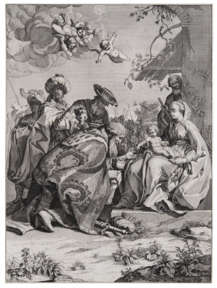 Frezza, Adoration of the Magi