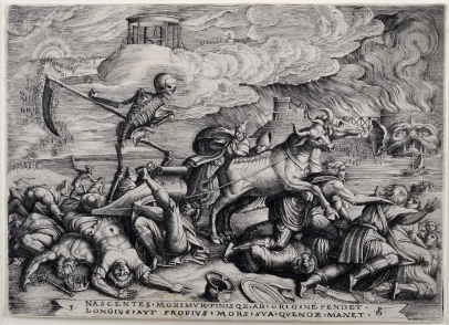 The Triumph of Death on Time