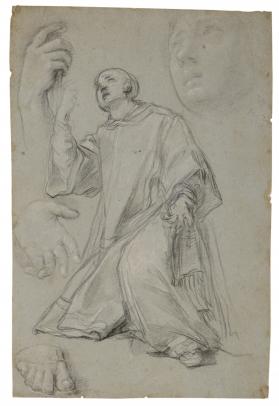 Maratta, A Kneeling Saint