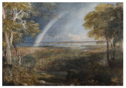 David Cox, The Junction of the Wye and the Severn
