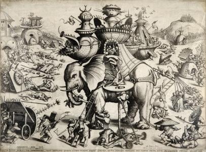Bosch, The Besieged Elephant