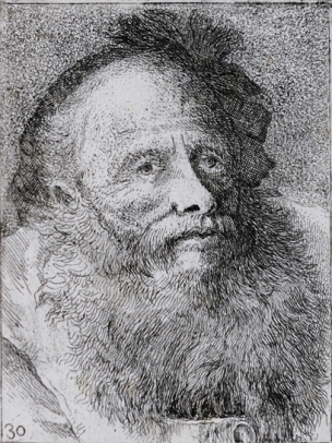 Old Man with Decorative Cap