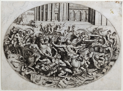 The Battle of the Amazons
