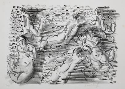 Raoul Dufy, Baigneuses