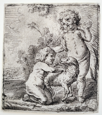 The Christ Child and the Infant St. John the Baptist