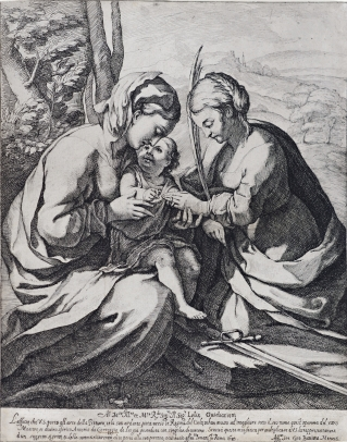 Virgin and Child with St. Catherine