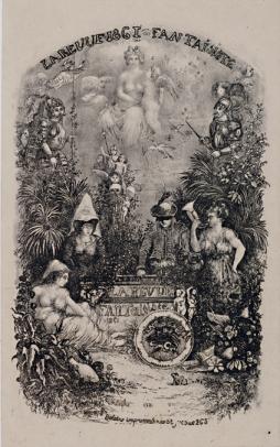 Rodolphe Bresdin, Frontispiece de la Revue Faintaisiste