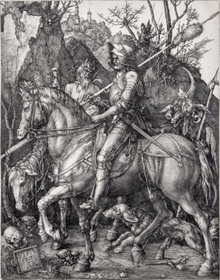 Albrecht Dürer, Knight, Death and the Devil