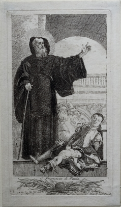 St. Francesco di Paula Cures a Possessed Man