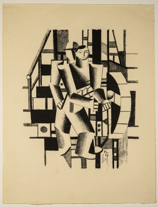 Fernand Léger, Composition aux deux Personnages