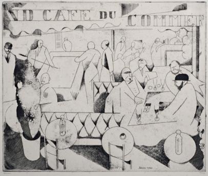 Jean Emile Laboureur, Le Café du Commerce
