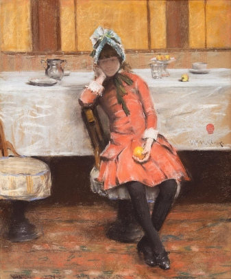 Untitled (Young Girl on an Ocean Steamer)