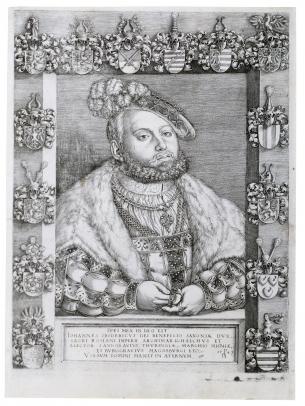 Portrait of Johann Friedrich I (the Magnanimus, Elector of Saxony)