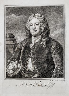 Martin Folkes Esqr.