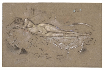 James McNeill Whistler, Nude Reclining
