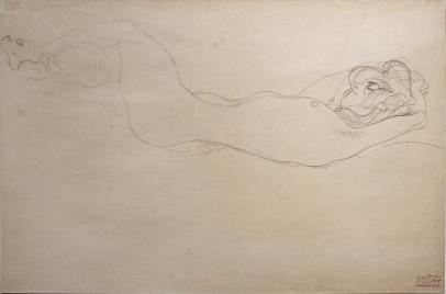 Reclining Nude (Head Right)