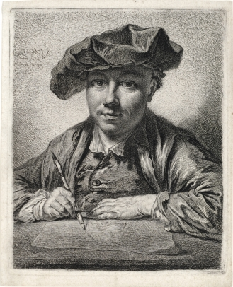 Schmidt, G.F., Self-Portrait