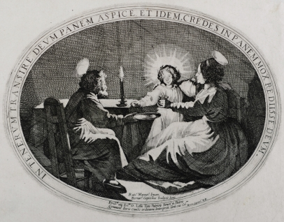The Holy Family at the Table
