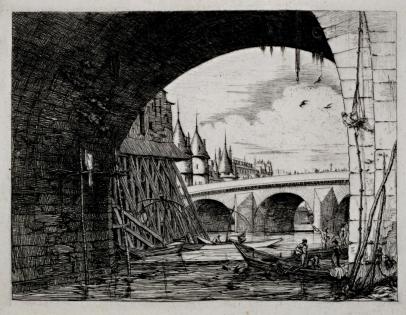 L'Arche du Pont Notre Dame
