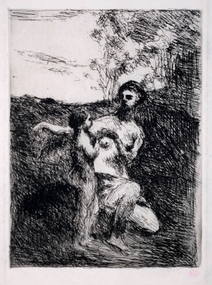Camille Corot, Venus Clipping the Wings of Cupid