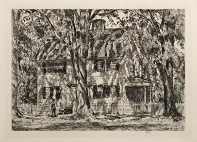 The Lion Gardiner House, East Hampton