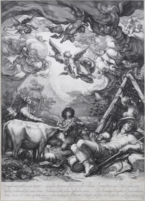 Saenredam, Annunciation to the Shepherds