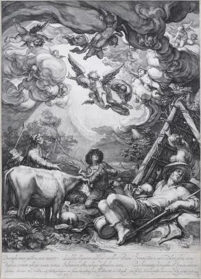 Saenredam, Annunciation to the Shepherds