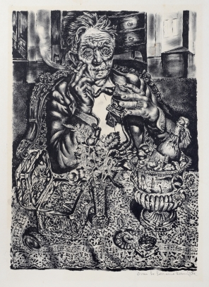 Ivan Albright, Self Portrait