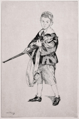 Boy With a Sword (Turned Left)