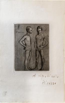 Pablo Picasso, Garçon et Dormeuse à la Chandelle
