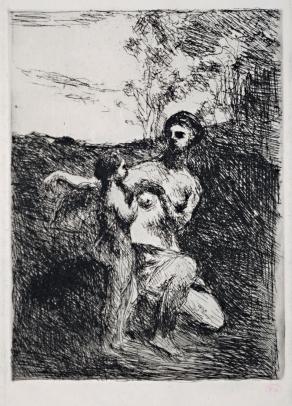 Venus Coupant les Ailes de l'Amour