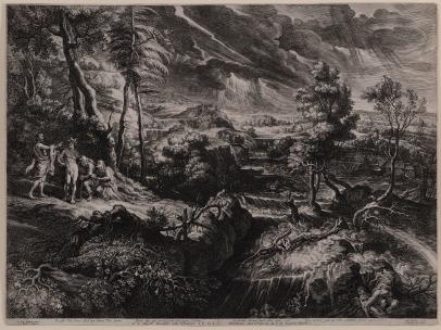 Philemon and Baucis (After Rubens)