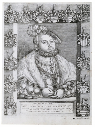 Portrait of Johann Friedrich I (the Magnanimus, Elector of Saxony)