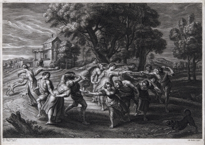 Dance of the Italian Peasants (After Rubens)