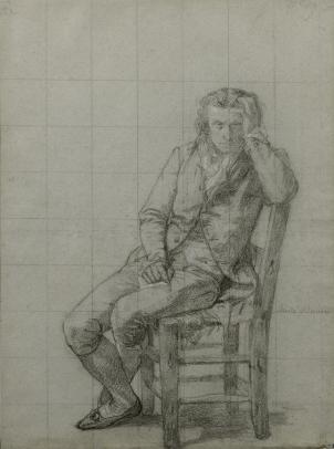 Charles-Louis Müller, The poet, André Chénier