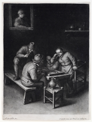 Gole, The Backgammon Players