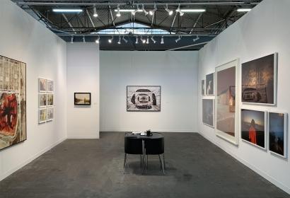 The Armory 2020 : Todd Hido, Elger Esser, Brea Souders, Marjan Teeuwen, Mishka Henner | installation image | Bruce Silverstein Gallery