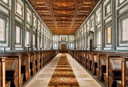 Ahmet Ertuğ | Laurentina Library, Florence ; Bruce Silverstein Gallery