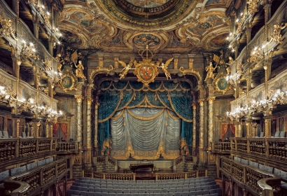 Ahmet Ertuğ | Margravial Opera House - Bayreuth, Germany ; Bruce Silverstein Gallery
