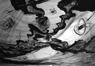 Barbara Morgan - Ink Drawings | Bruce Silverstein Gallery