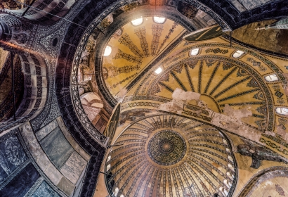 Ahmet Ertuğ | Hagia Sophia - Istanbul ; Bruce Silverstein Gallery