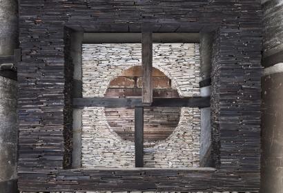 Marjan Teeuwen - Destroyed House Kyoto | Bruce Silverstein Gallery