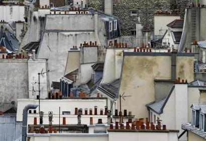 Michael Wolf - Paris Rooftops | Bruce Silverstein Gallery